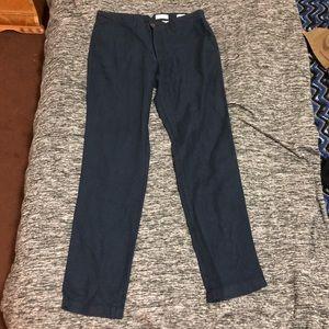 NWOT GAP Linen Cotton Slim Pants